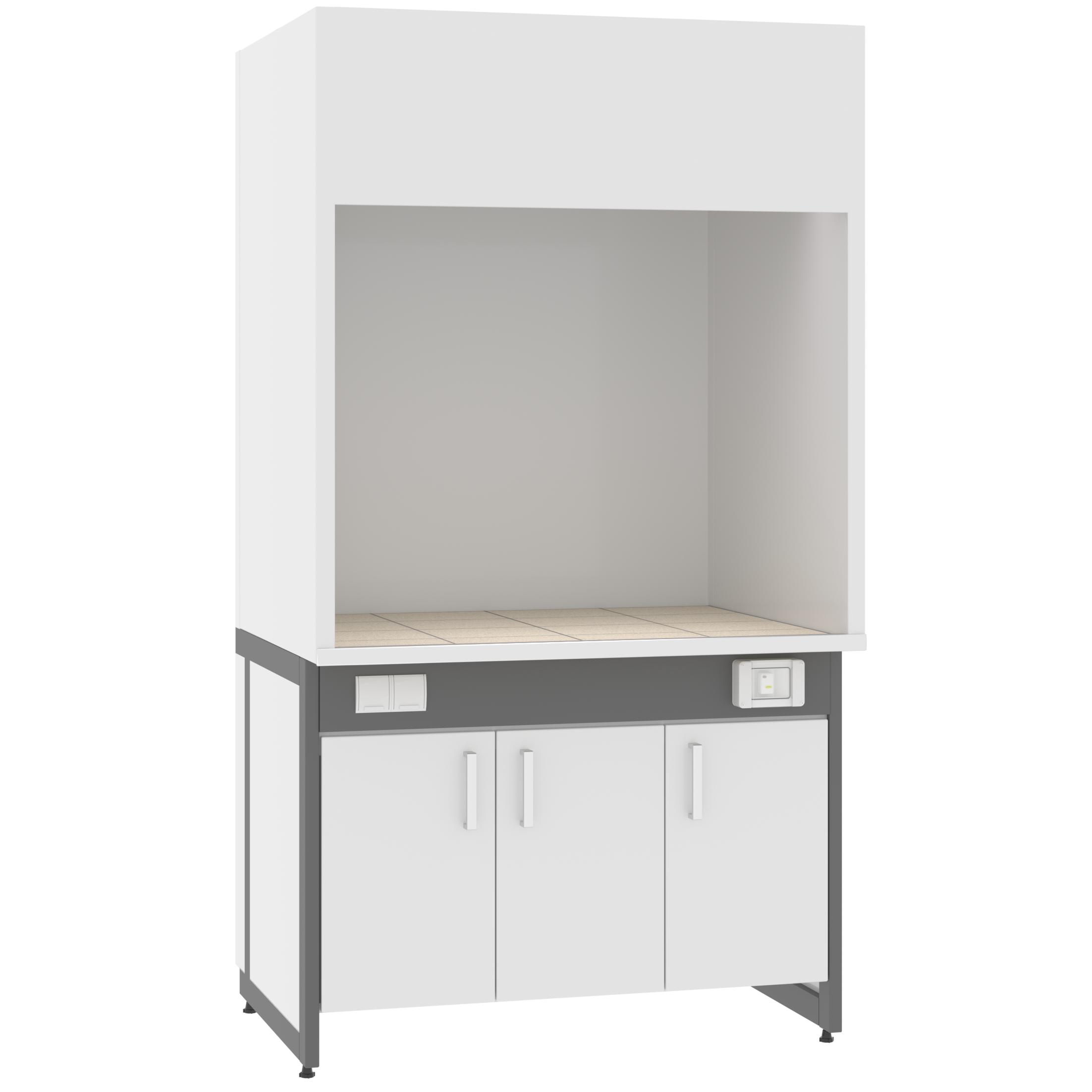 Шкаф вытяжной ШМП-01 (для муфельных печей)
