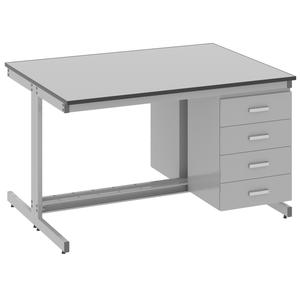 Стол лабораторный островной - 3.041.05