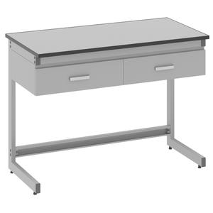 Стол лабораторный пристенный - 3.021.05