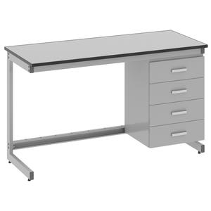 Стол лабораторный пристенный - 3.041.05