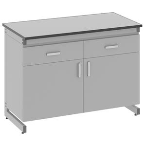 Стол лабораторный пристенный - 3.091.05