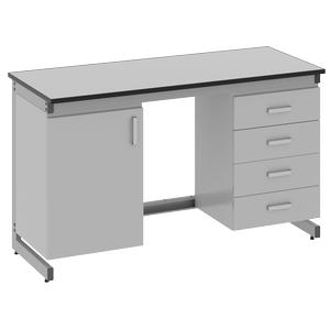 Стол лабораторный пристенный - 3.111.05