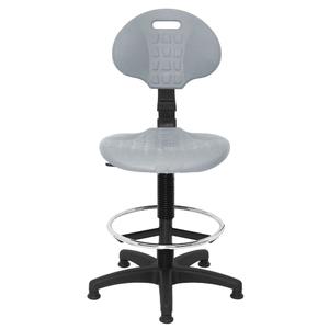 Кресло лабораторное PU высокое