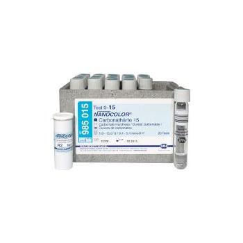 Пробирочный тест NANOCOLOR® Карбонатная жёсткость 15