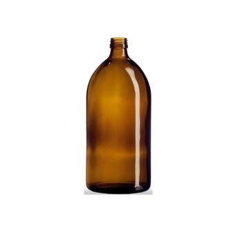 Круглая бутылка